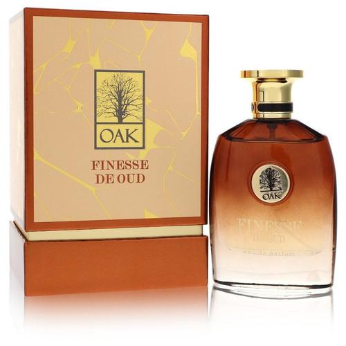 Oak Finesse De Oud by Oak Eau De Parfum Spray (Unisex) 3 oz for Men
