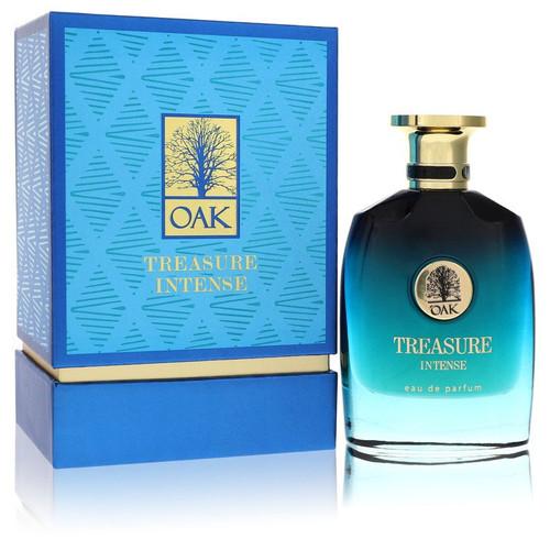 Oak Treasure Intense by Oak Eau De Parfum Spray (Unisex) 3 oz for Men