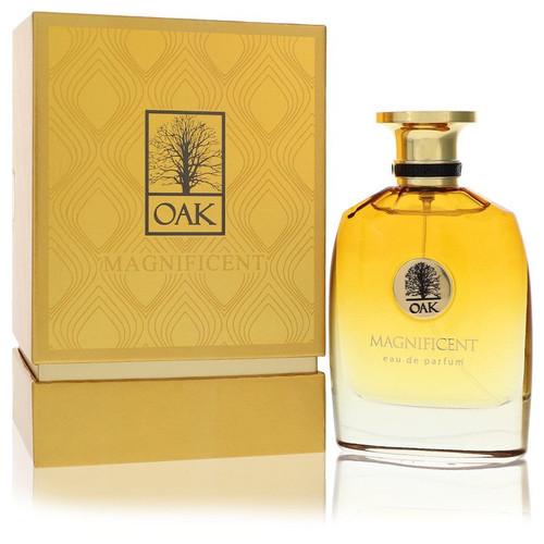 Oak Magnificent by Oak Eau De Parfum Spray (Unisex) 3 oz for Men