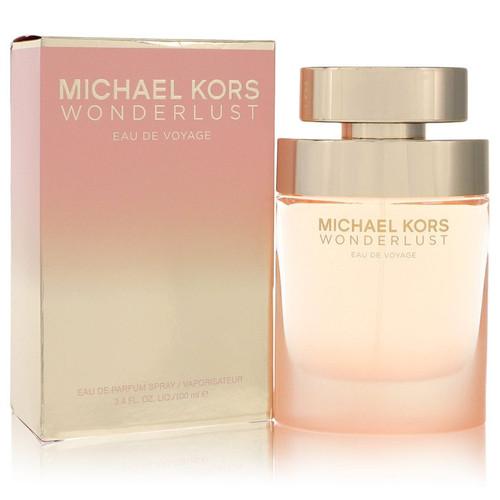 Michael Kors Wonderlust Eau De Voyage by Michael Kors Eau De Parfum Spray 3.4 oz for Women