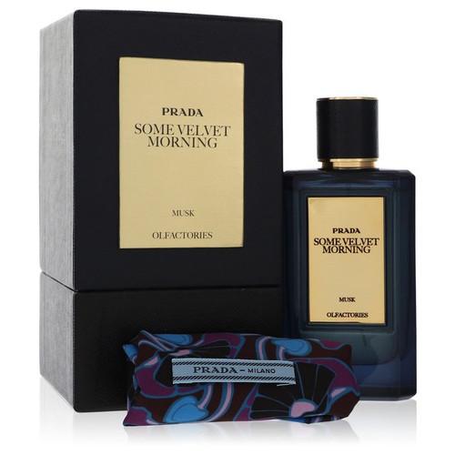 Prada Olfactories Some Velvet Morning by Prada Eau De Parfum Spray with Free Gift Pouch 3.4 oz 3.4 oz Eau De Parfum Spray + Gift Pouch for Men