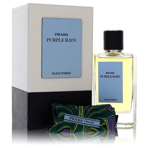 Prada Olfactories Purple Rain by Prada Eau De Parfum Spray with Gift Pouch (Unisex) 3.4 oz for Men