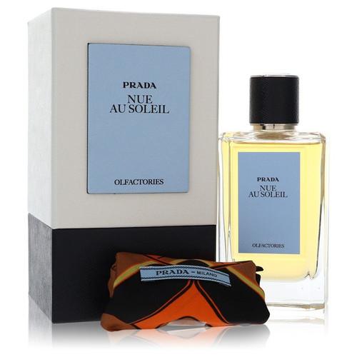 Prada Olfactories Nue Au Soleil by Prada Eau De Parfum Spray with Free Gift Pouch 3.4 oz 3.4 oz Eau De Parfum Spray + Gift Pouch for Men