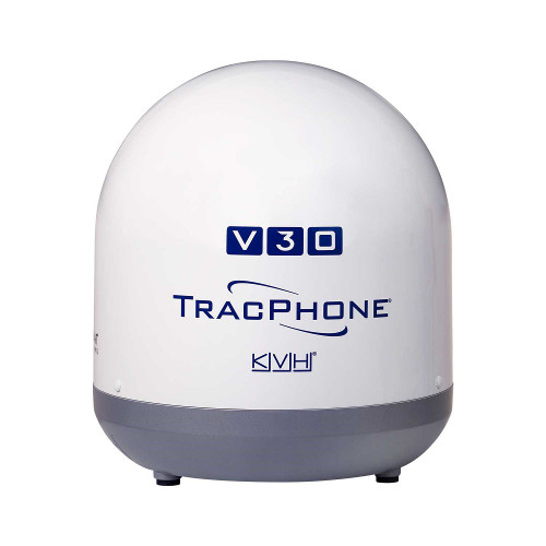 Kvh Tracphone V30 System With Dc-bdu