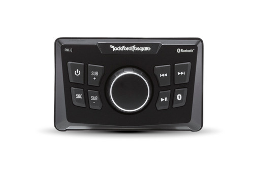 Rockford Fosgate Punch Marine Pmx-0 Ultra Compact Digital Media Receiver