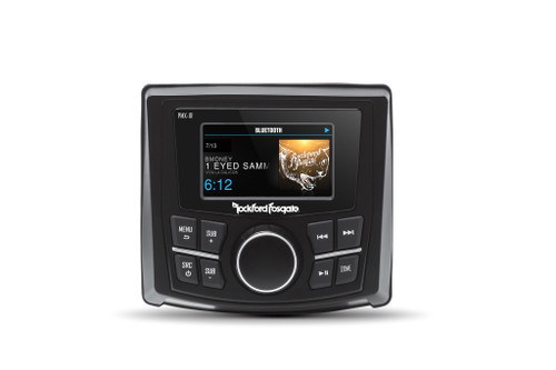 """Rockford Fosgate Punch Marine Pmx-1r 2.7"""""""" Color Display Wired Remote"""