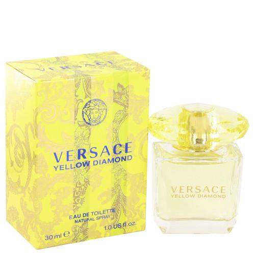 Versace Yellow Diamond by Versace Eau De Toilette Spray 1 oz for Women