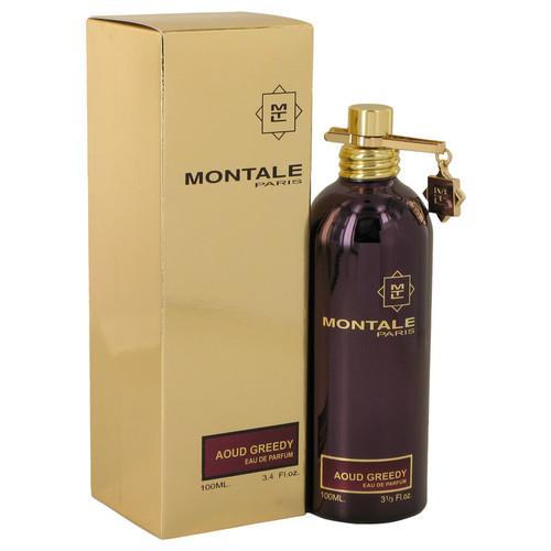 Montale Aoud Greedy by Montale Eau De Parfum Spray (Unisex) 3.4 oz for Women