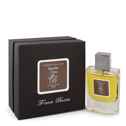 Franck Boclet Vanille by Franck Boclet Eau De Parfum Spray (Unisex) 3.4 oz for Men