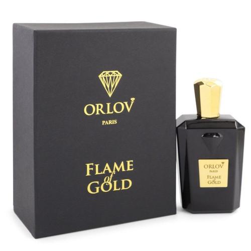 Flame of Gold by Orlov Paris Eau De Parfum Spray (Unisex) 2.5 oz for Women