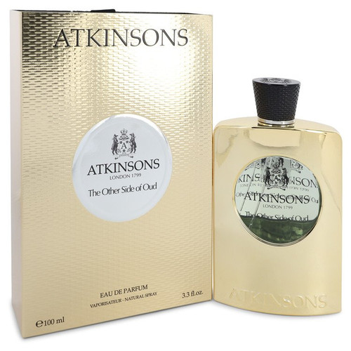 The Other Side of Oud by Atkinsons Eau De Parfum Spray (Unisex) 3.3 oz for Women