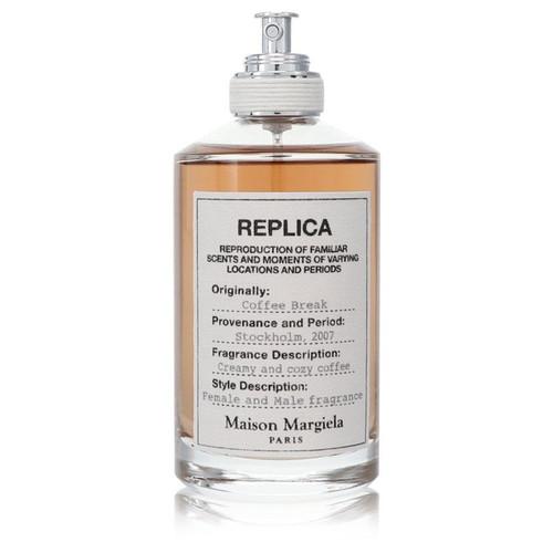 Replica Coffee Break by Maison Margiela Eau De Toilette Spray (Unisex Tester) 3.4 oz for Women