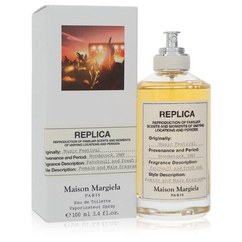 Replica Music Festival by Maison Margiela Eau De Toilette Spray (Unisex) 3.4 oz for Women