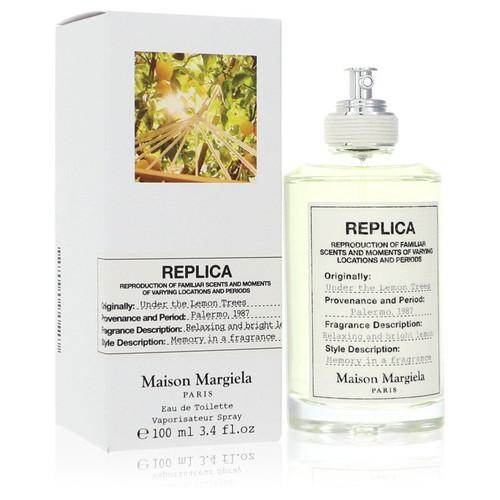 Replica Under The Lemon Trees by Maison Margiela Eau De Toilette Spray (Unisex) 3.4 oz for Women
