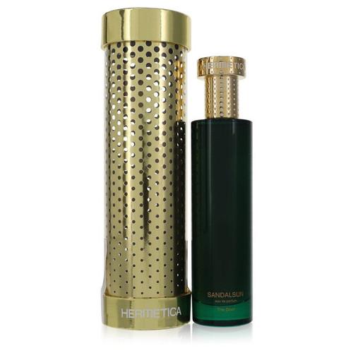 Sandalsun by Hermetica Eau De Parfum Spray (Unisex) 3.3 oz for Men