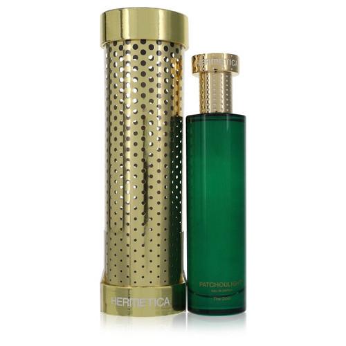 Patchoulight by Hermetica Eau De Parfum Spray (Unisex) 3.3 oz for Men