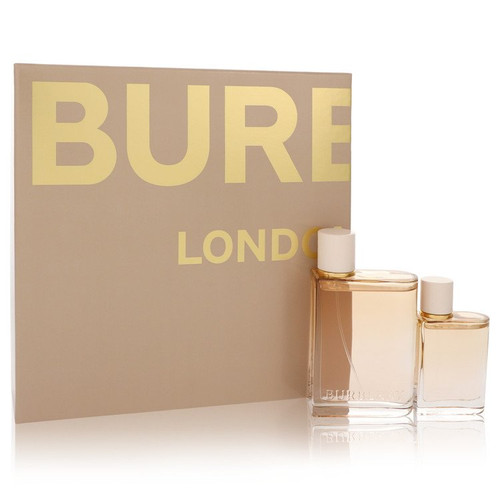 Burberry Her London Dream by Burberry Gift Set -- 3.3 oz Eau De Parfum Spray + 1.0 oz Eau De Parfum Spray for Women