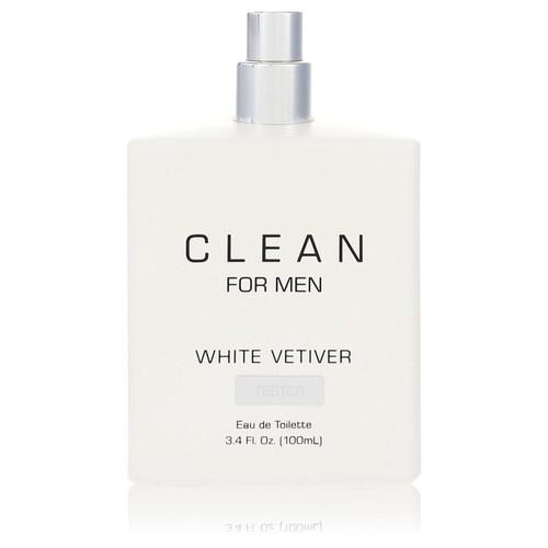 Clean White Vetiver by Clean Eau De Toilette Spray (Tester) 3.4 oz for Men