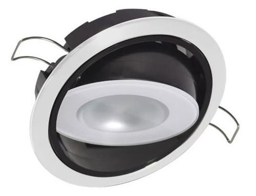 Lumitec Mirage Down Light Warm White White Finish