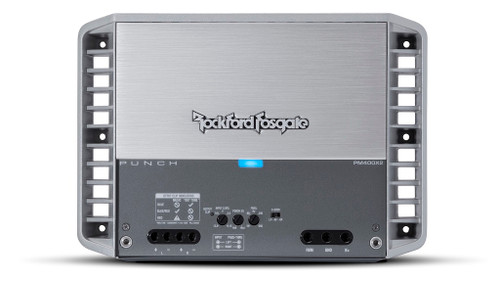 Rockford Fosgate Punch Marine Pm400x4 4 Channel Amplifier 50x4 At 4 Ohms