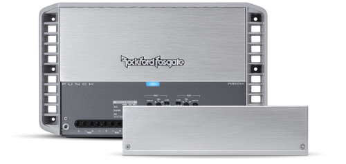 Rockford Fosgate Punch Marine Pm600x4 4 Channel Amplifier 75x4 At 4 Ohms