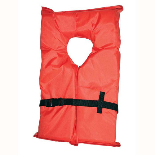 Onyx Orange Type II Jacket Adult Large