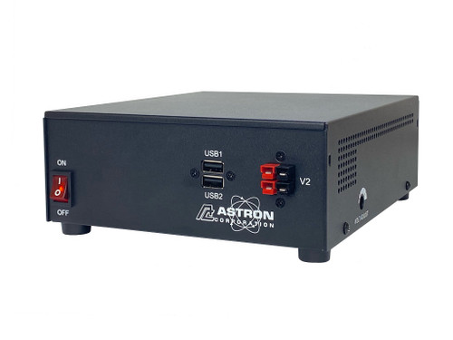 Astron Ss-30-ap Power Supply 110/220vac-12vdc 30a Converter