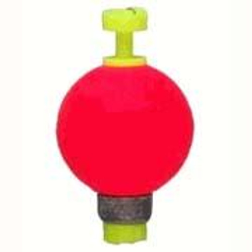 """Comal Snap-On Weighted Round Float .75"""" 25/bag Red"""