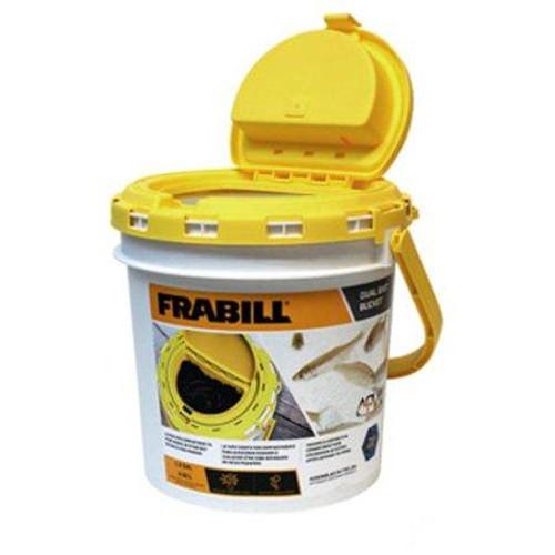 Frabill Minnow Bucket Drainer 2pc 10qt