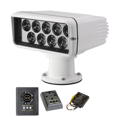 ACR RCL-100 LED Searchlight Wired Kit w\/Master Controller & Wired Point Pad Controller
