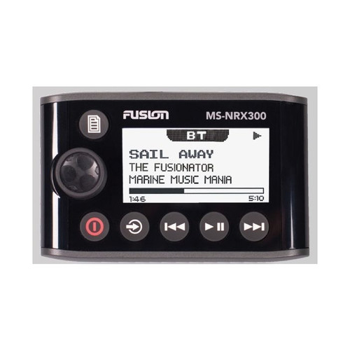 Fusion Ms-nrx300 Reman Wired Remote For Nmea 2000 Compatible Units