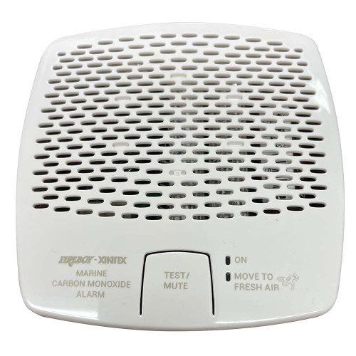 Xintex CMD6-MD-R CO Alarm 12\/24V DC - White