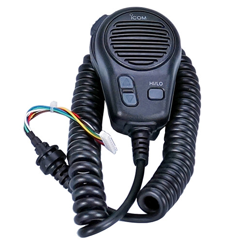 Icom Hm196b Black Microphone Replacement For M424