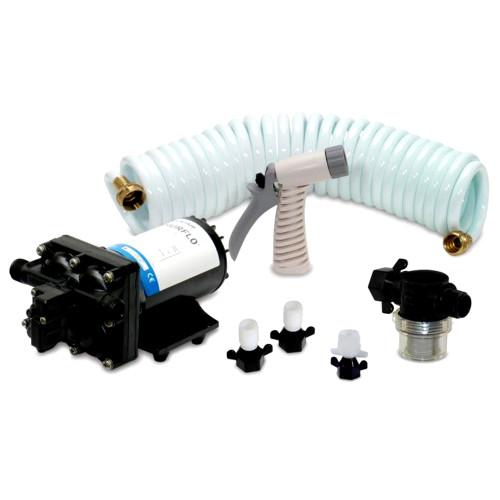 Shurflo by Pentair BLASTERII Washdown Kit - 12VDC, 3.5GPM w\/25 Hose, Nozzle, Strainer  Fittings