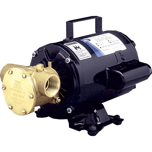 Jabsco Utility Pump w\/Open Drip Proof Motor - 115V