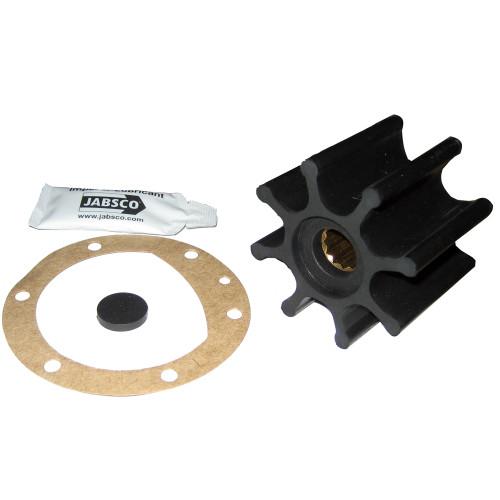"""Jabsco Impeller Kit - 8 Blade - Neoprene - 2-9\/16"""" Diameter x 2"""" W, 5\/8"""" Shaft Diameter"""