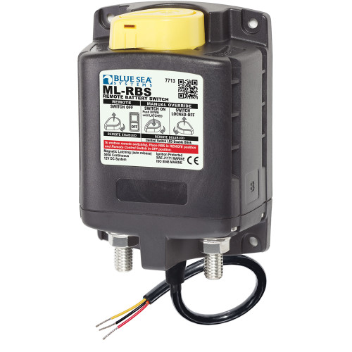 Blue Sea 7713 ML-RBS Remote Battery Switch w\/Manual Control Release - 12V