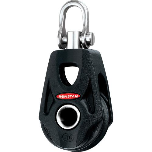 Ronstan Series 30 Ball Bearing Orbit Block - Single - Becket - Swivel Shackle Head