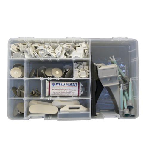Weld Mount Executive Adhesive & Fastener Kit w\/AT-8040 Adhesive