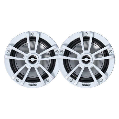 "Infinity 6.5"" Marine RGB Reference Series Speakers - White"