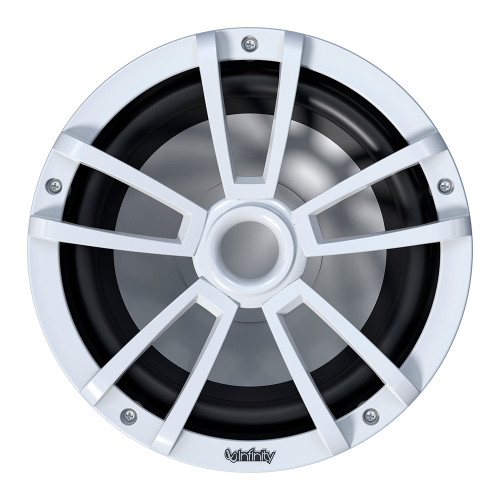 """Infinity 10"""" Marine RGB Reference Series Subwoofer - White"""