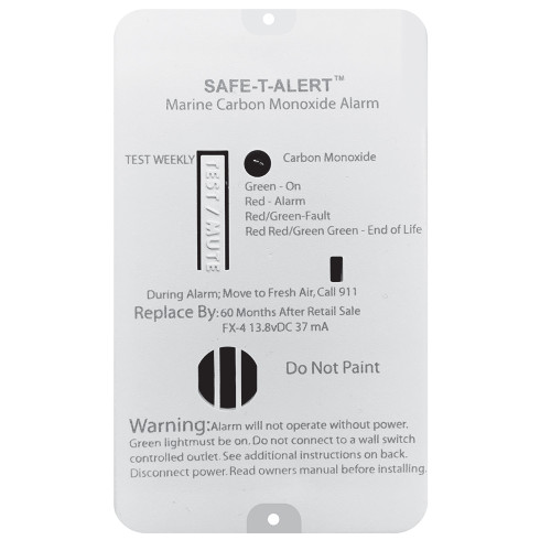 Safe-T-Alert FX-4 Carbon Monoxide Alarm