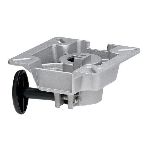 "Attwood SWIVL-EZE LakeSport 2-3\/8"" Seat Mount w\/Friction Control - Aluminum"