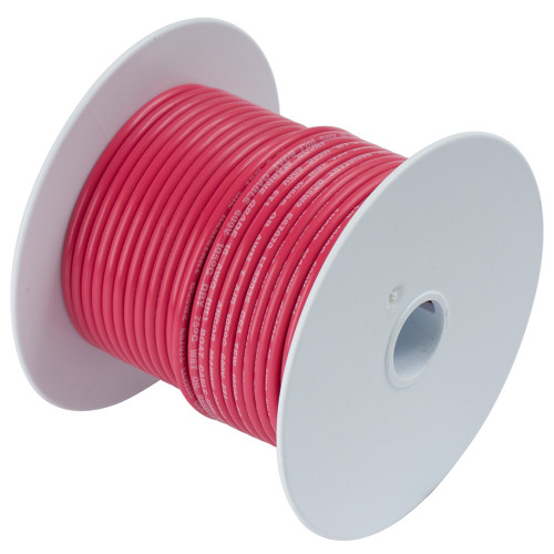 Ancor Red 12 AWG Tinned Copper Wire - 250'