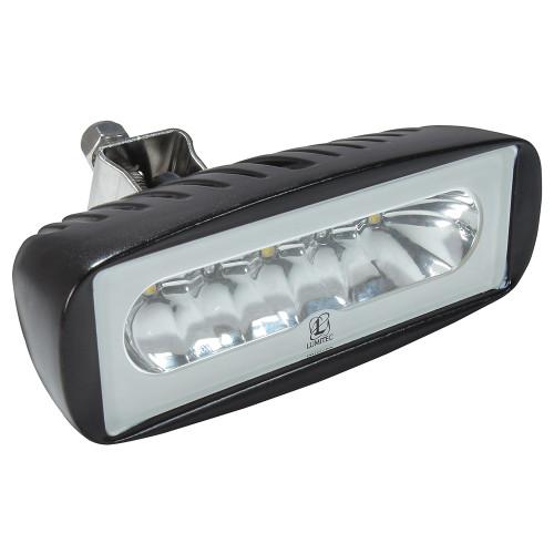 Lumitec Caprera2 - LED Floodlight - Black Finish - 2-Color White/Blue Dimming