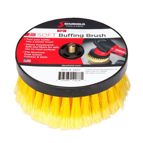 Shurhold 6- Soft Brush f/Dual Action Polisher