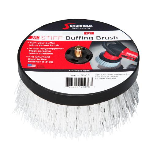 Shurhold 6- Stiff Brush f/Dual Action Polisher