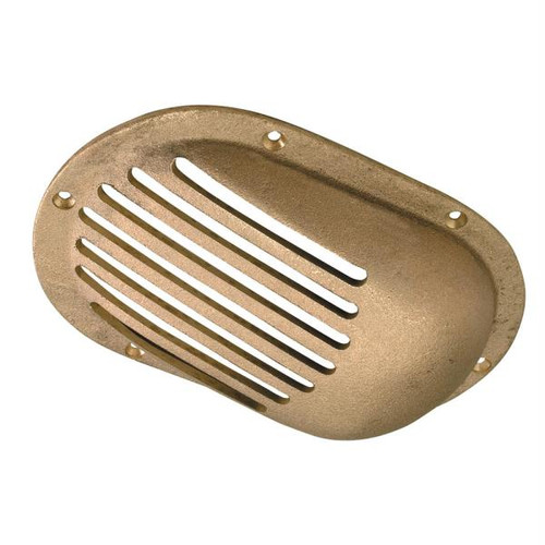 Perko 5 x 3-1/4 Scoop Strainer Bronze MADE IN THE USA
