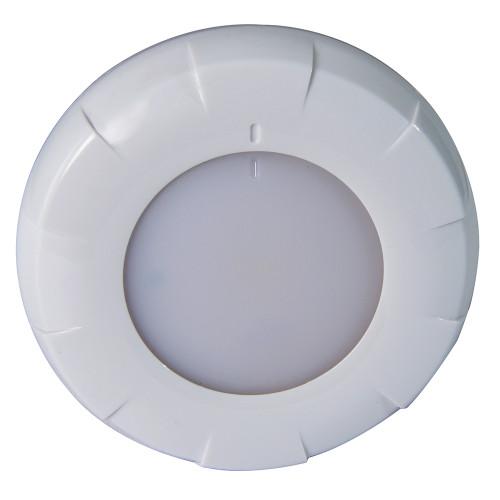 Lumitec Aurora LED Dome Light - White Finish - White/Red Dimming