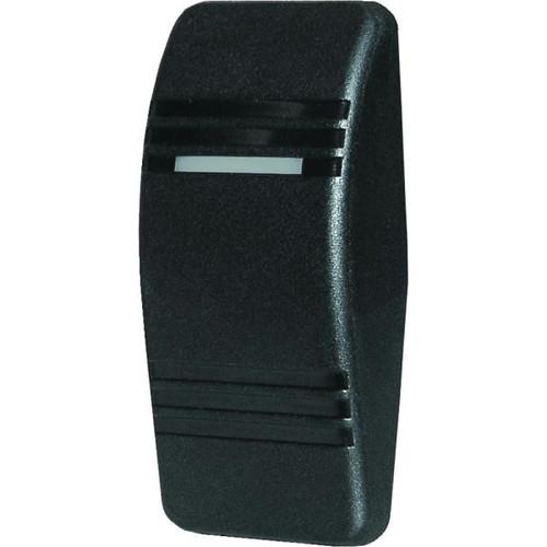 Blue Sea 8296 Contura Switch Actuator - Black - No Lense